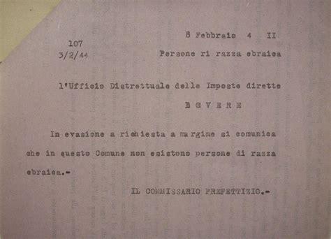 ufficio delle imposte dirette shoa 1944 02 08 risposta a ufficio imposte dirette di