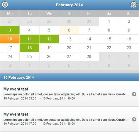 jquery layout event 10 best jquery calendar and date picker plugins webprecis