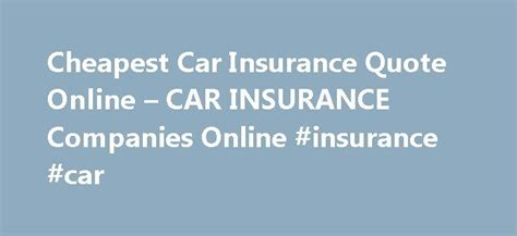 ideas  car insurance  pinterest www car