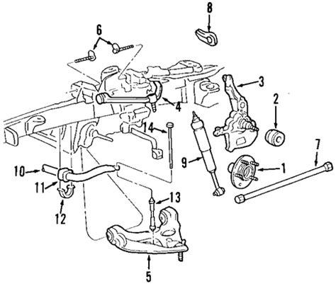 1996 ford ranger front suspension diagram front suspension for 2003 ford ranger