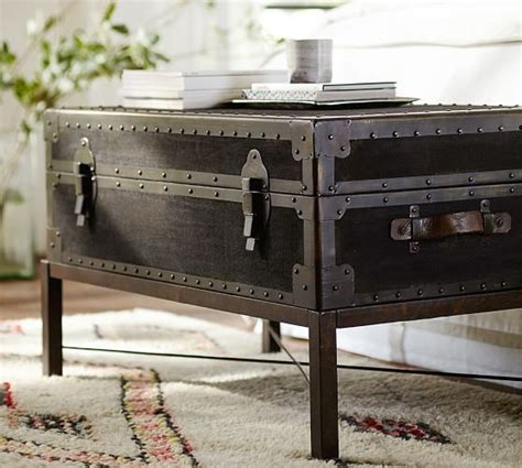 Pottery Barn Trunk Coffee Table Ludlow Trunk Coffee Table Pottery Barn