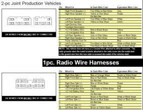 need daimler chrysler harness wiring diagram for cd radi part