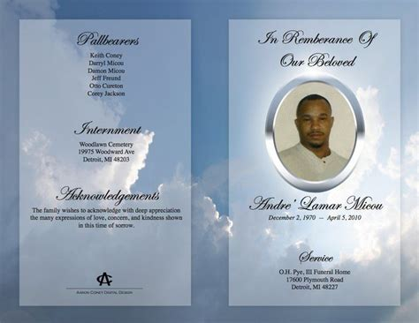 funeral bulletin template free downloadable funeral bulletin covers funeral program