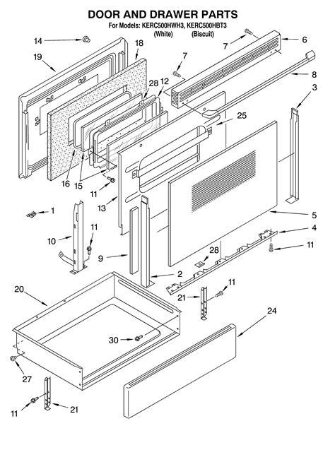 kitchenaid stove parts engine diagram and wiring diagram