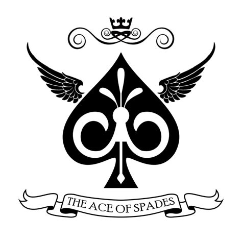 ace of spades logo simplified by lux operon on deviantart