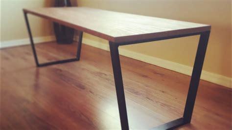 diy steel table legs diy design ideas