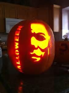Michael Myers Halloween Pumpkin Stencil - the gallery for gt halloween michael myers pumpkin stencil