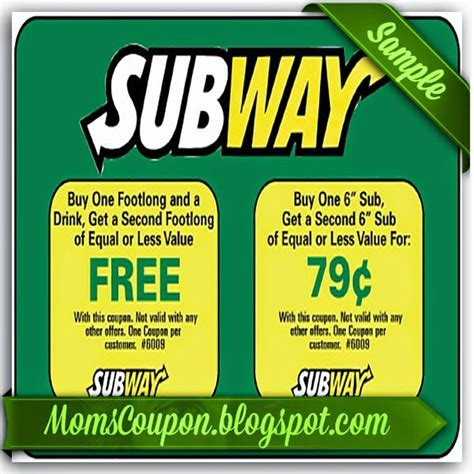 printable subway coupons march 2015 subway coupon february 2015 local coupons february