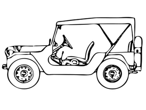 how to draw a army jeep free clip jeep coloring page jeep coloring page