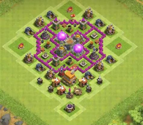 coc map layout th6 8 best town hall th6 farming bases anti giants 2018