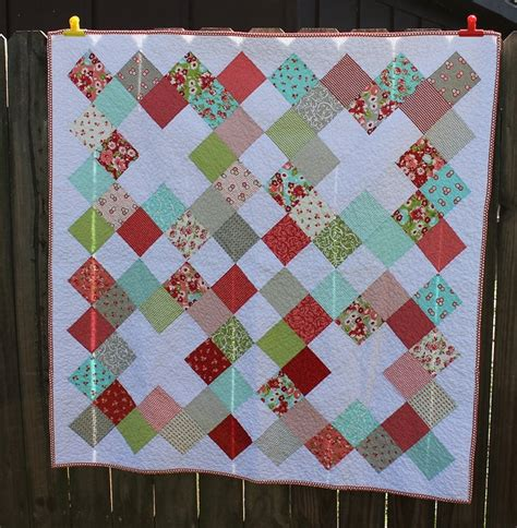 charm square quilt quilting