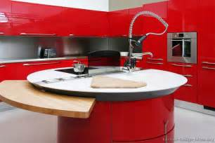 pictures of kitchens modern red kitchen cabinets red kitchen design ideas trend home design and decor