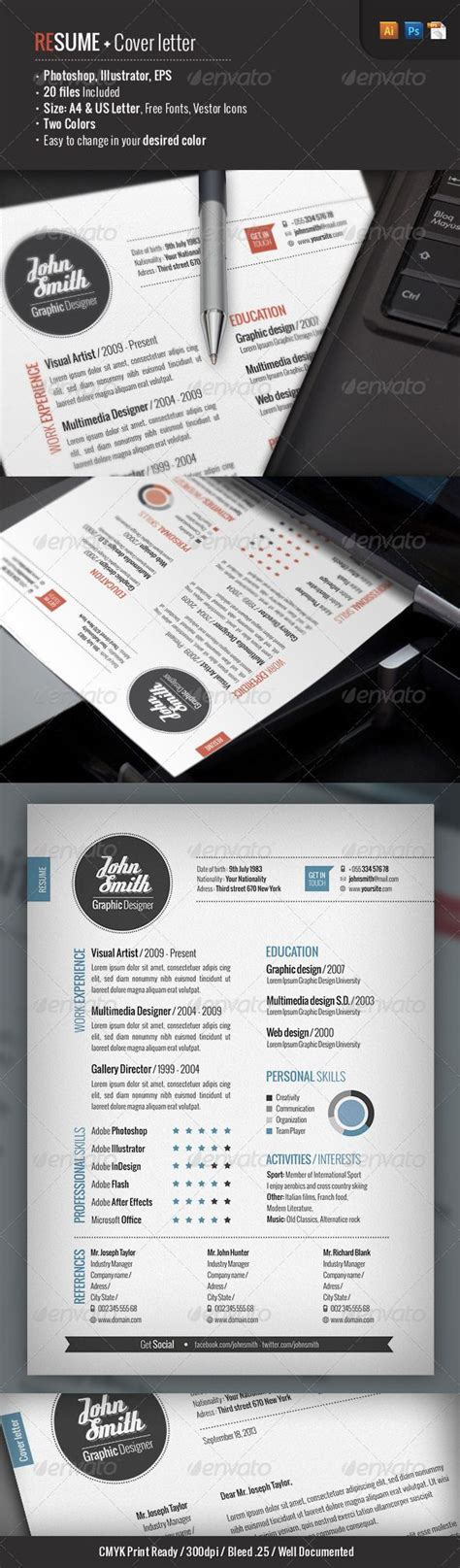 Memo Template Graphicriver 1000 images about cv on cover letter resume