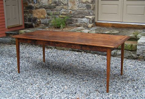 7784 handmade new england pine country kitchen table for