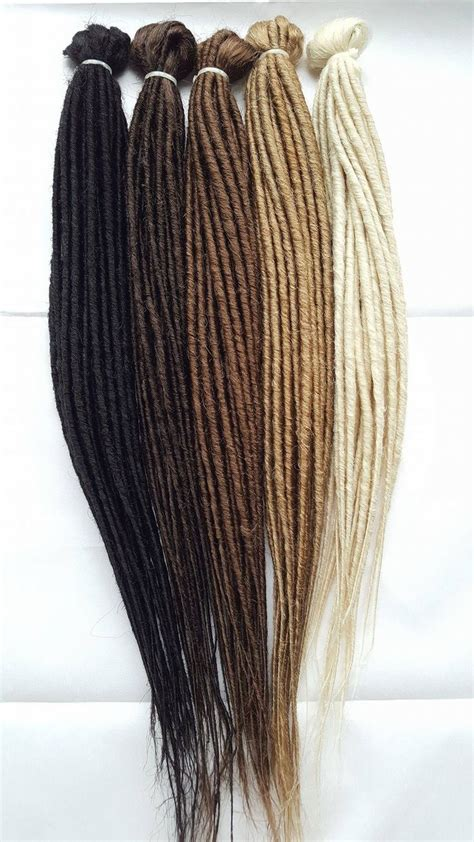 dreaded hair extensions dreadlab synthetic dreadlocks backcombed extensions 10