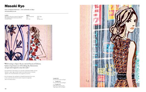 illustration now fashion multilingual edition books in the books masaki ryo illustrator illustration