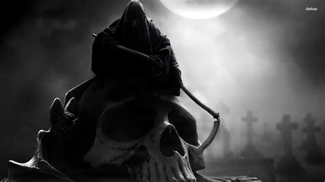 wallpaper black death grim reaper wallpaper