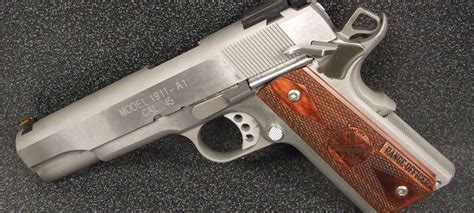 Springfield 1911 Range Officer Review by Springfield Armory Range Officer Stainless 1911 45 Review