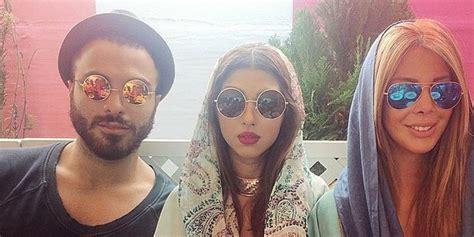 rich of tehran instagram raises eyebrows huffpost