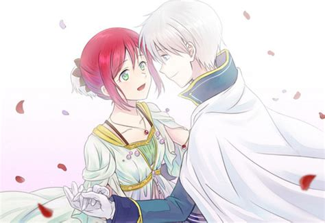 imagenes de zen y shirayuki akagami no shirayukihime bilder shirayuki and zen hd