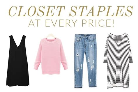 List Of In The Closet by Our List Of Closet Staples At Every Price Glitter Guide