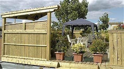garde corps terrasse exterieur 427 une terrasse en bois trait 233 en c 232 dre ou en plastique