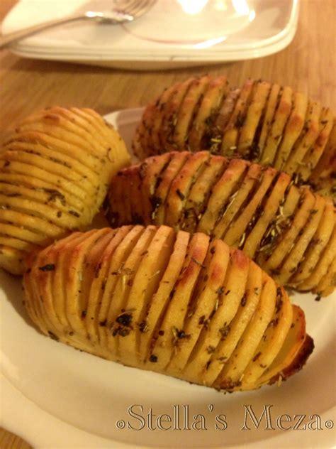 stella s meza hasselback baked potatoes