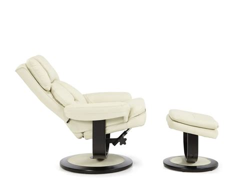 bonded leather recliner chair finley cream bonded leather recliner chair just armchairs