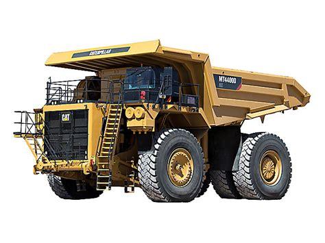 cat mt4400d ac electric drive truck caterpillar