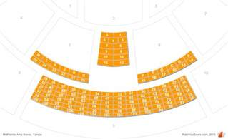 mid florida hitheater seating map midflorida credit union hitheatre vip box seats
