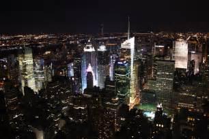 new york veduta notturna di ny viaggi vacanze e turismo turisti
