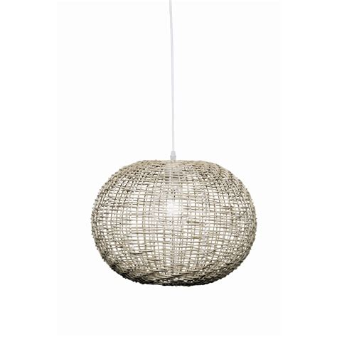 Brilliant 30cm 60w Panama Grey Pendant Light Bunnings Bunnings Lights