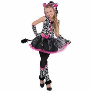ebay girls halloween costumes sassy stripes zebra girls fancy dress animal halloween