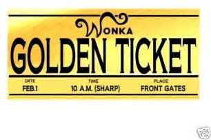 free golden ticket template editable willy wonka golden ticket templates clipart best