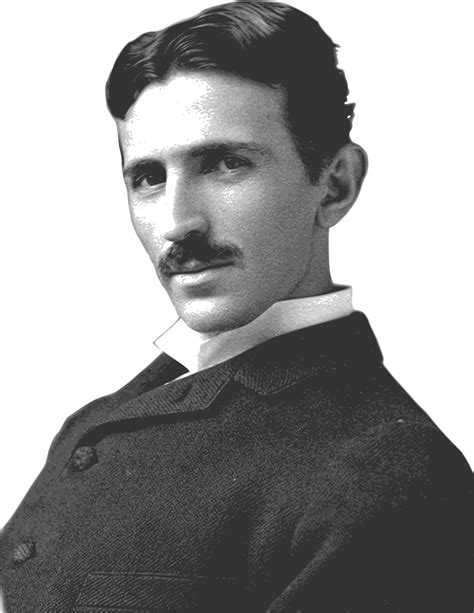 nicolai tesla nikola tesla side view transparent png stickpng