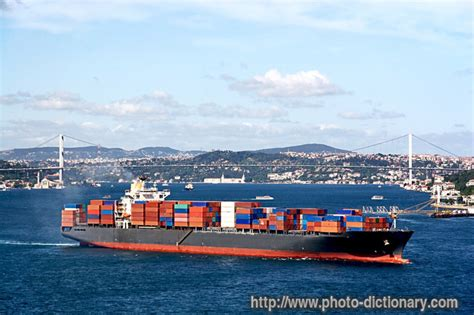 shipping boat definition cargo container ship photo picture definition at photo
