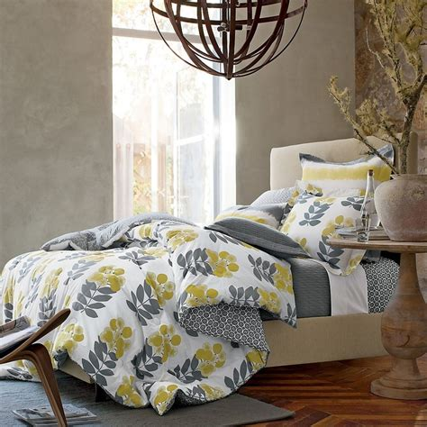 yellow and gray bedding 35 best images about yellow and grey bedding on pinterest