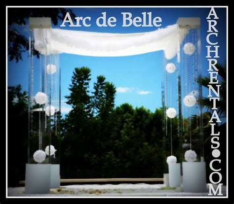 Wedding Arch Rental Utah by 1000 Images About Arc De Lucite Acrylic Wedding