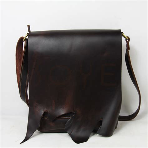 Handmade Shoulder Bags - handmade leather shoulder bag shoulder travel bag