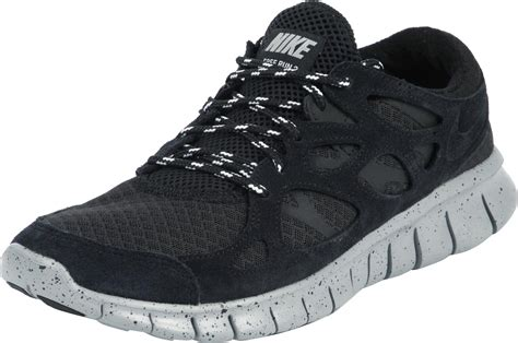 nike  run  shoes black