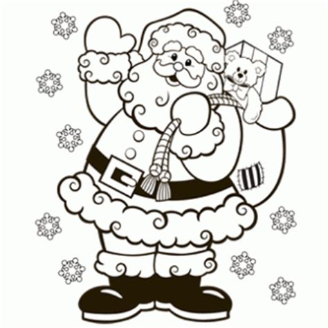 coloring pages christmas pdf santa coloring page free christmas recipes coloring