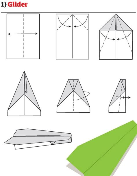 How To Make Paper Gliders Step By Step - how to make cool paper airplanes that fly far step by step
