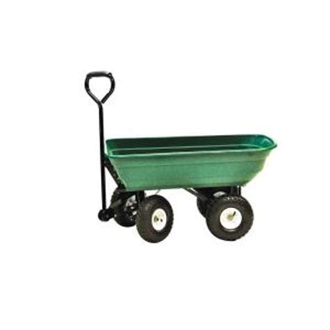 precision 4 cu ft 600 lb mighty garden yard cart lc2000