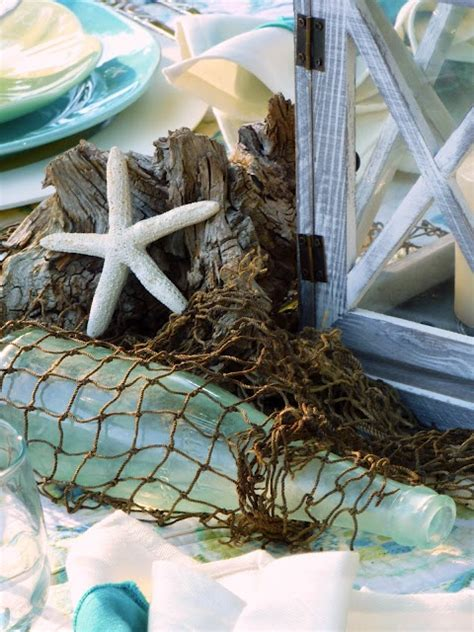 Sea Decorations For Home | summer decoration inspiration from sea and beach world