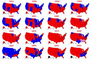 Us Presidential Election Map by The Results Of Every Presidential Election In History