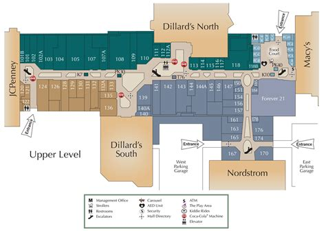 layout of white oaks mall mall directory oak park mall