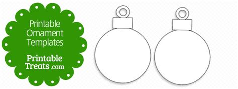 Printable Ornament Templates Printable Treats Com Templates For Ornaments