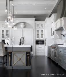 White Cabinets Lower Cabinets by Cool White Cabinets And Gray Lower Cabinets