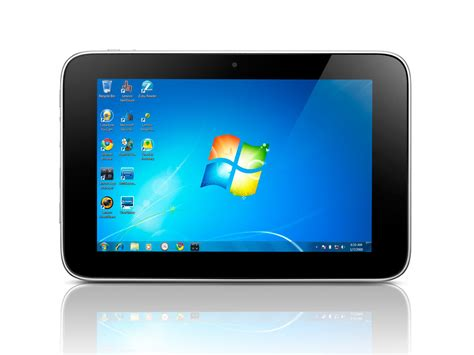 Tablet Lenovo lenovo ideapad tablet p1 comes with windows 7