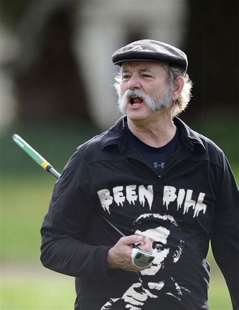 bill murray pointing no big deal just bill murray playing golf sportin some